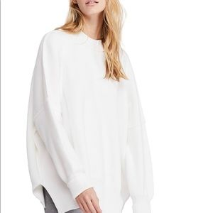 Free People Sweaters - FREE people easy street Tunic (White)